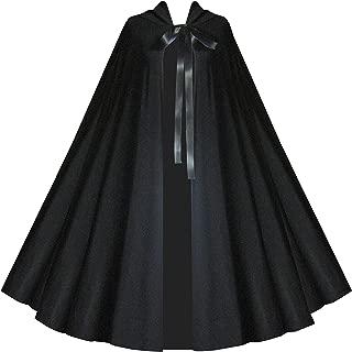 Victorian Vagabond Medieval Renaissance Gothic Steampunk Shakespeare Black Capelet Cloak
