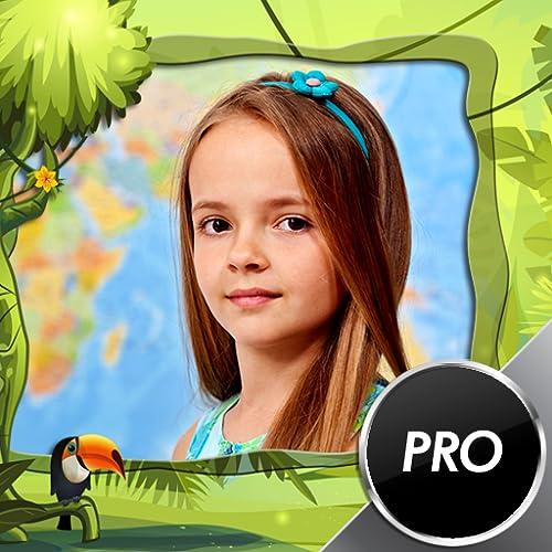 Kids Jungle Bilderrahmen