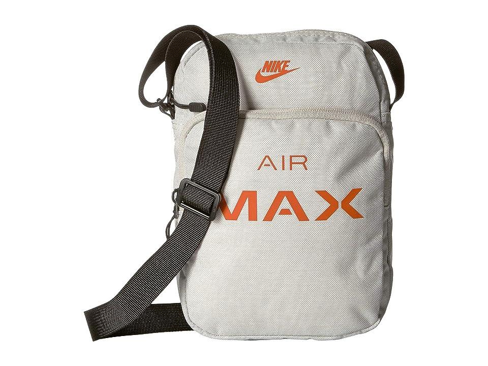 c59b43ae67 Nike Air Max Small Items Bag (Light Bone Black Campfire Orange) Cross