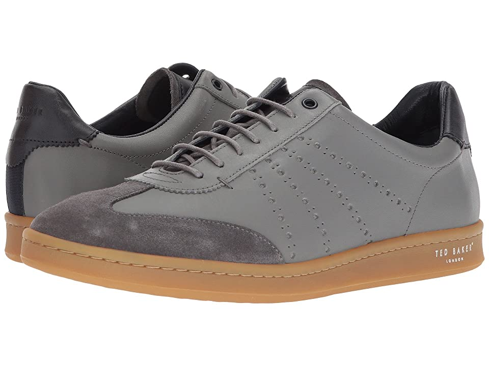 Ted Baker Orlee 2 (Light Grey Leather) Men