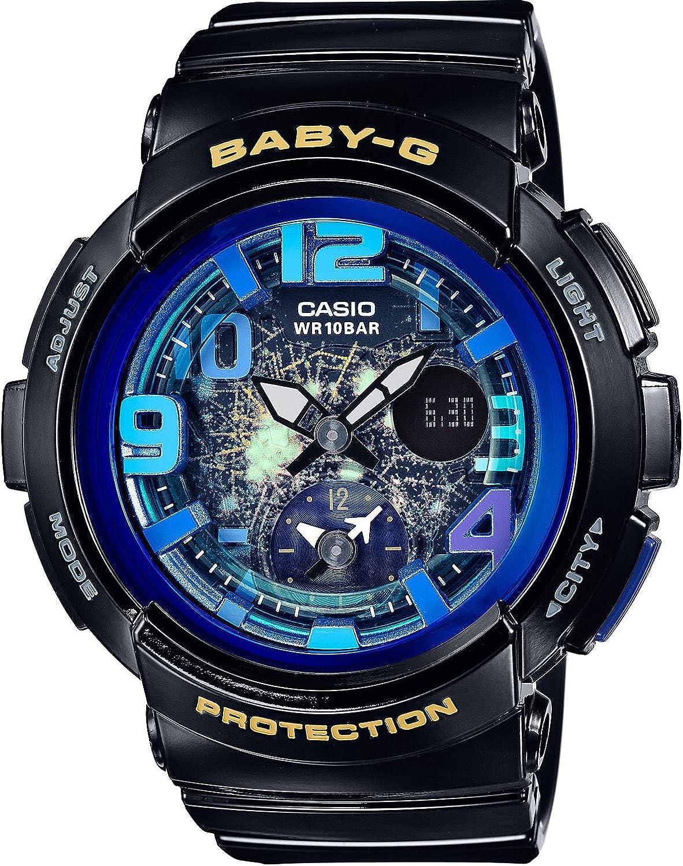Free shipping anywhere in the nation CASIO BABY-G Beach Traveler Series online shop BGA-190GL-1BJF Watch Women's