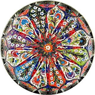 1000 Piece Puzzles Round Jigsaw Puzzles for Adults Teens Kids, Black Vintage Style Mandala Unique Designs,Stunning Colors for Family Game Gift Art Project for Home Wall Decor