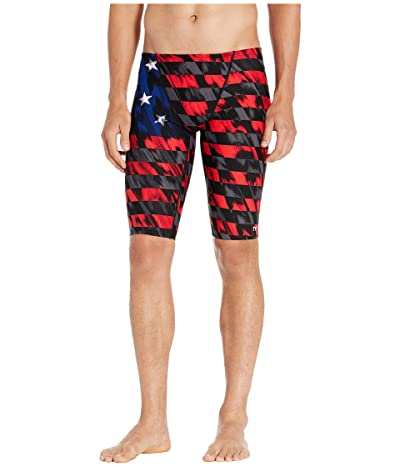 TYR Valor Jammer (Red/White/Blue) Men