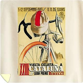 Lantern Press Cataluna - Bicycle Racing - Vintage Advertisement 41250 (88x88 Queen Microfiber Duvet Cover)