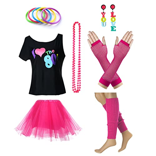 the best attitude 8e567 94914 Women s I Love The 80 s T-Shirt 80s Outfit accessories