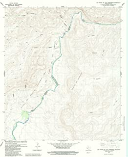 Historic Map | Las Vegase Los Ladrones, Texas (TX) 1983 | USGS Historical
