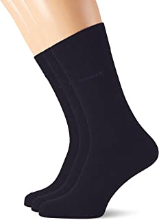 3-pack Soft Cotton Socks Calcetines, Azul (Marine 410), Talla Única (talla del fabricante: Oversize) (Pack de 3) para Hombre
