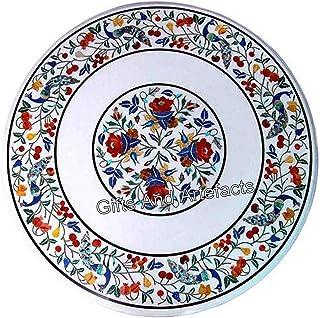 Table de réception unique faite à la main avec table de table blanche pour salle à manger avec art et artisanat du Cottage...