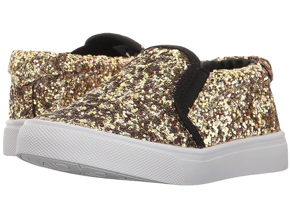 AKID Brand Liv (Toddler/Little Kid/Big Kid) (Gold Dazzle) Girls Shoes