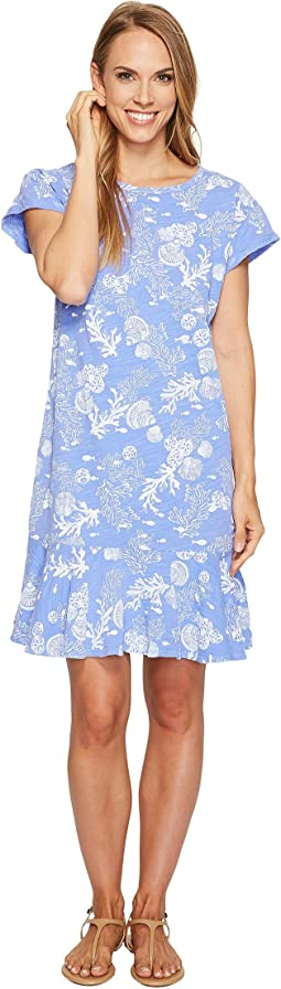 Fresh Produce - White Sands Reef Dress