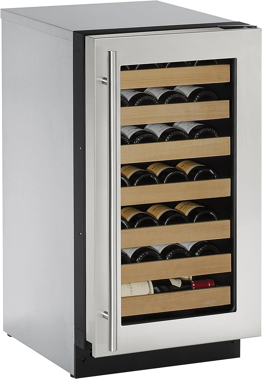 Classic Rapid rise U-Line U2218WCS00A Built-in Wine Storage 18