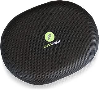ErgoFoam Orthopedic Donut Pillow for Tailbone Pain | Donut Seat Cushion for Hemorrhoids | Plush Support for Comfort | Breathable Mesh Cover | Hemmoroid Pillow | Postpartum | Doughnut Pillow