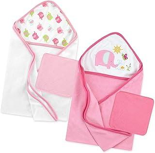 Just Born Love to Bathe Elephant Bath Set, Pink (51352L)