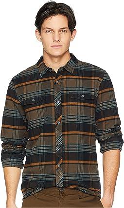 Ridgemont Flannel Woven Top
