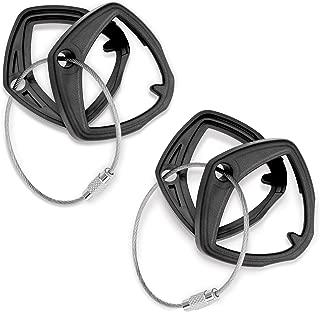 Big Bike Parts 41-182BK Black Can-Am Spyder Key Covers, 2 Pack