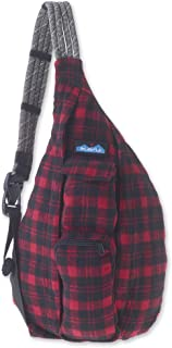 KAVU Plaid Rope Sling Bag Crossbody Backpack