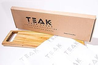 Teak Serving Board on Hard Wood - Beautiful Teak Tray Board made out of Teak Home Goods Food Grade - This Amazing Teak Ser...