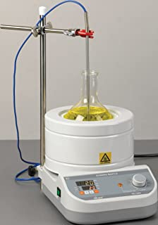 Mtops DMS634 PID Controlled Stirring Heating Mantle,110V, 1000ml, Round Bottom Flask