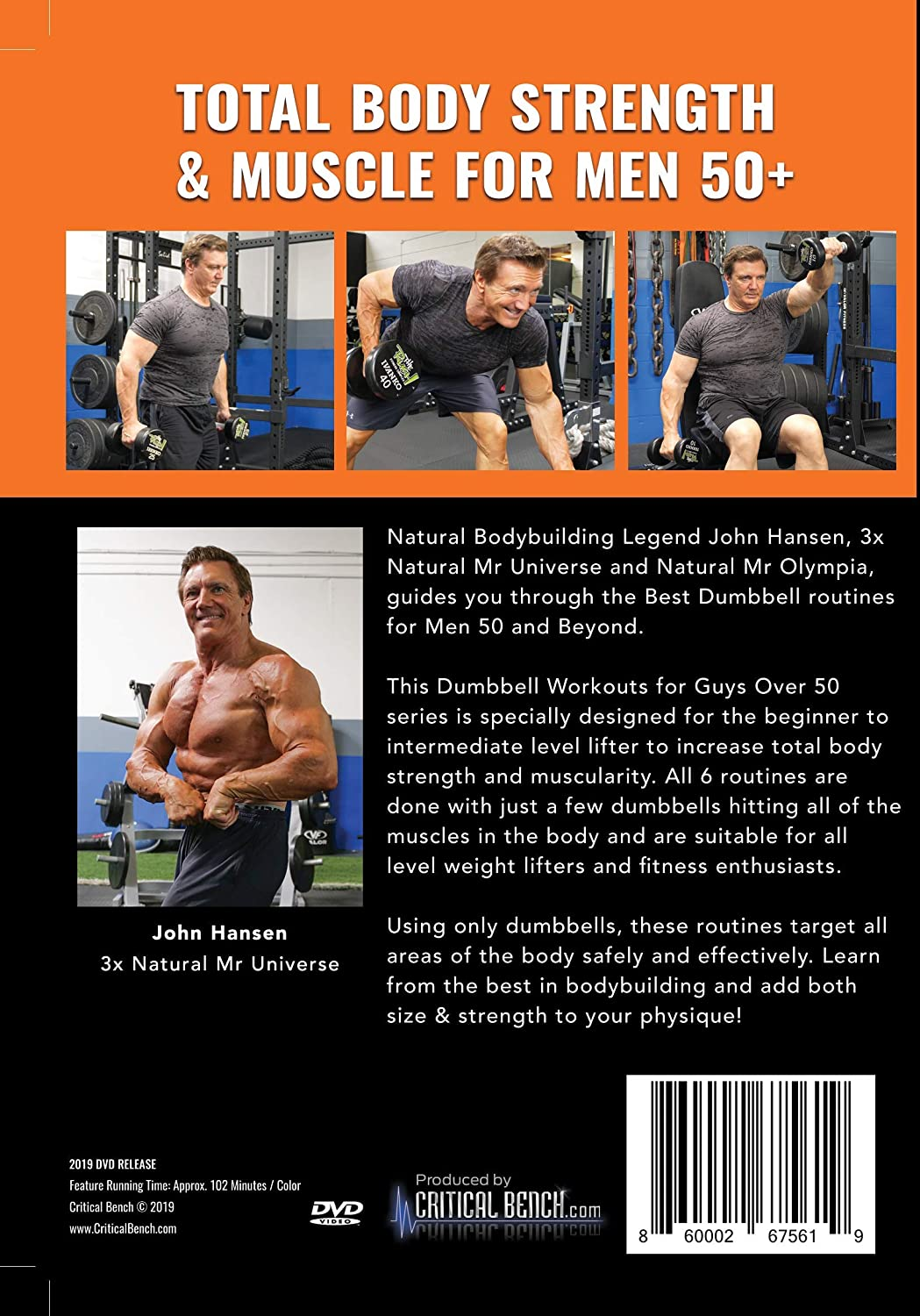Buy CRITICAL BENCH.COM Dumbbell Workouts for Guys Over 20 with ...