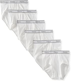 Hanes Men's 6-Pack FreshIQ Tagless Cotton Brief