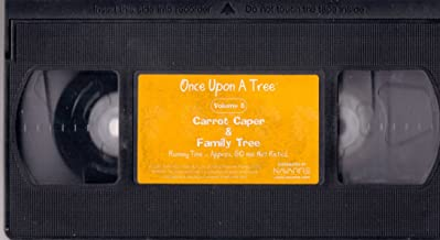 Once Upon a Tree Volume 8 The Carrot Caper & Family Tree  VHS