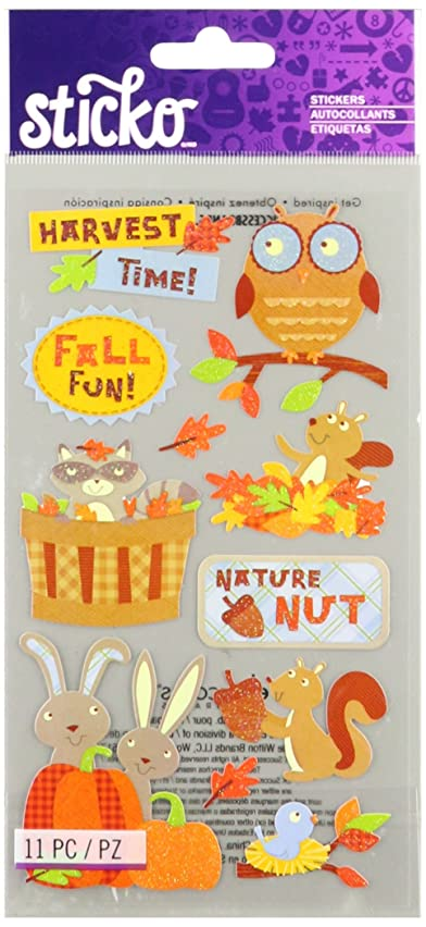 Sticko Harvest Time Stickers