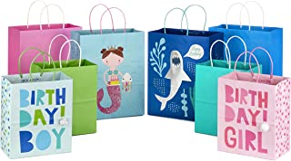 Hallmark Paper Gift Bags Assortment (Pack of 8; 4 Medium 10