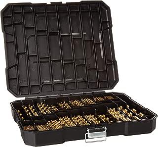 230 Pieces Titanium Drill Bit Set, High Speed Steel, for Wood,Metal,Aluminum Alloy