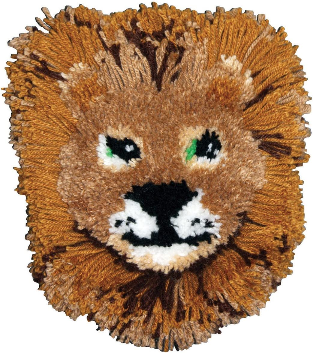MCG Textiles Huggables Animal New Shipping Free Shipping Lion Kit Hook Pillow Latch specialty shop