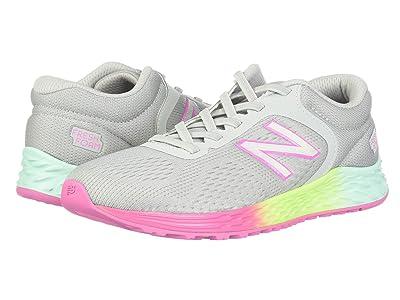 New Balance Kids Arishi v2 (Little Kid/Big Kid) (Light Aluminum/Rainbow) Girls Shoes