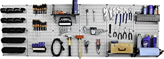 Wall Control 30-WRK-800GB Master Workbench Metal Pegboard Tool Organizer