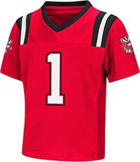 Colosseum NCAA Toddler-Play Action Pass-#1 Team Football Jersey (Sizes 2T 3T 4T 5T)