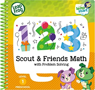 LeapFrog Level 1 LeapStart Book - Scout & Friends Math with Problem Solving - 3D Enhanced Book
