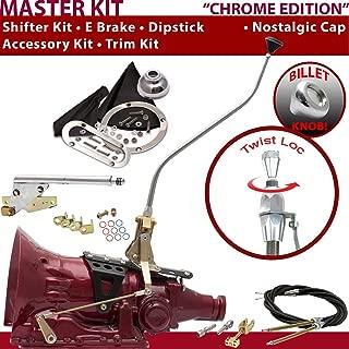 American Shifter 529096 Shifter (45RFE 23 Swan E Brake Cable Trim Kit Dipstick for F5538)
