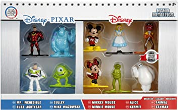 Jada Disney Nano Metalfigs Die-Cast Mini-Figures 10-Pack