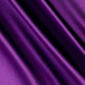 Shannon Fabrics Silky Satin Charmeuse Solid, Lavender