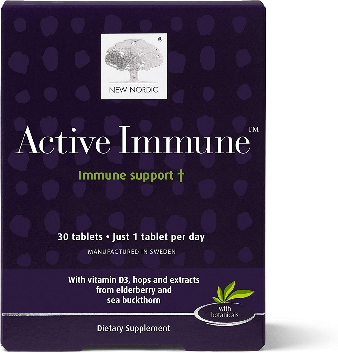 New Nordic Active Trust Immune Daily Supplement E 5 ☆ very popular Tablets Immunity