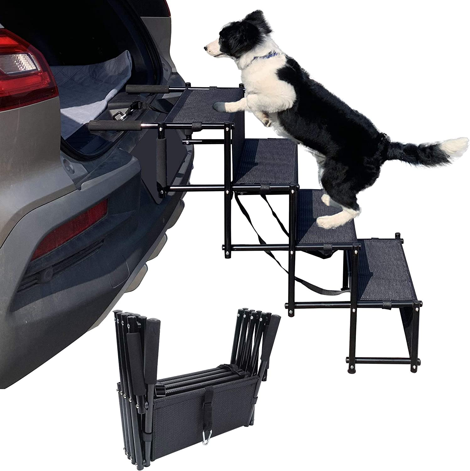 maxpama Premium Nonslip Dog OFFer Car Steps(5 Steps Challenge the lowest price of Japan ☆ for Truc SUV
