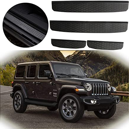TJ JK,JL YJ 1996-2018 Roof Storage Roll Cage Bar Restraint Rear Top Cargo Net for Jeep Wrangler,Car Roof Hammock Car Bed Rest Jeep Wrangler Accessories YJ