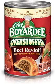 Chef Boyardee Overstuffed Beef Ravioli, 15 oz