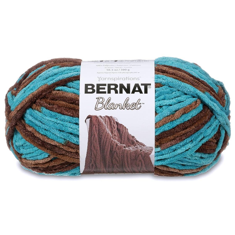 Bernat Blanket Yarn, Mallard Wood