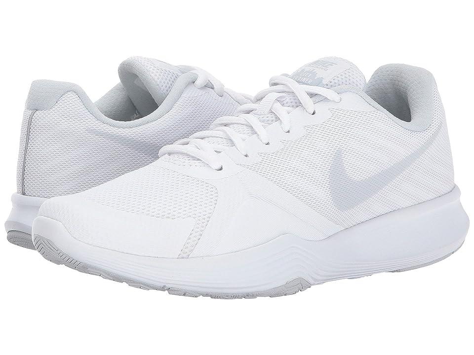 Nike City Trainer (White/Pure Platinum) Women