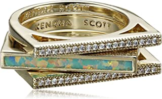 Lucia Kyocera Opal Stackable Ring