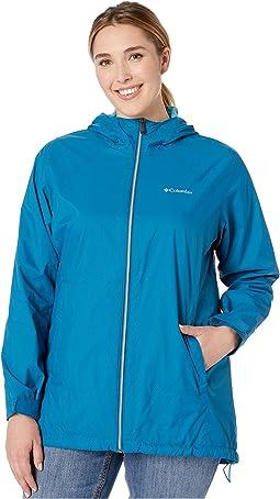 Plus Size Switchback™ Lined Long Jacket