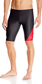 Speedo Men's PowerFLEX Eco Revolve Splice Jammer Swimsuit