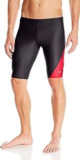 Speedo Men's Revolve Splice PowerFLEX Eco Compression Jammer Swimsuit