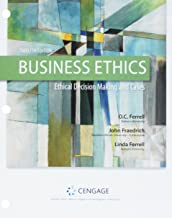 Business Ethics + Mindtap Management, 1-term, 6 Month Printed Access Card: Ethical Decision Making & Cases