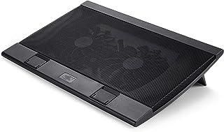 Deepcool ディープクール WINDPAL FS ノートパソコン冷却台 PCクーラーノート 2つ冷却140㎜大ファン付 調節可能なファン速度 2段階高度調整可 2つUSB 滑り止め