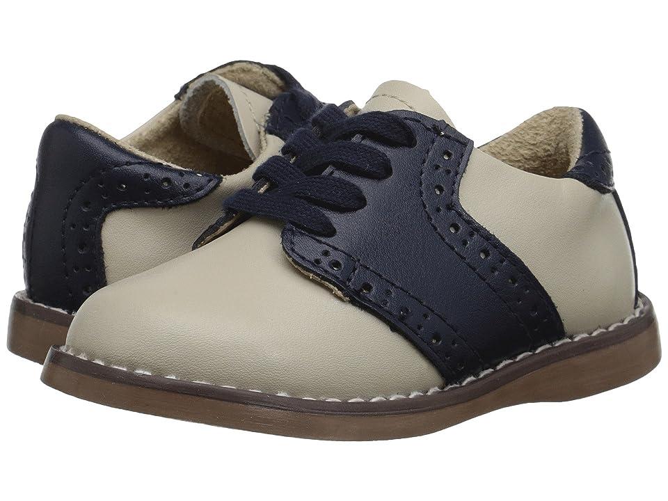 FootMates Connor 2 (Toddler/Little Kid) (Ecru/Royal) Boys Shoes