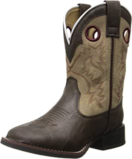 Laredo Collared Kid's Leather Boots